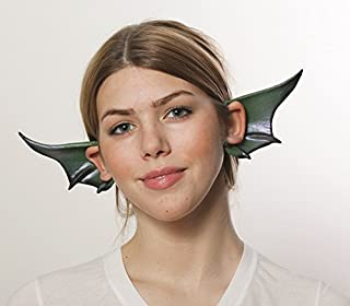 HMS Winged Dragon Gargoyle Cosplay Flexi Ears Costume Accessory, Green by HMS