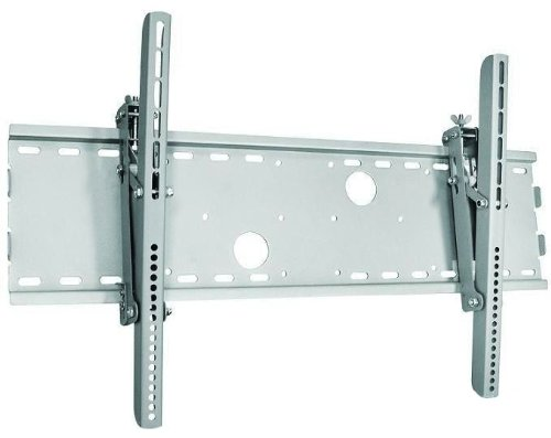 Silver Tilt Wall Mount Bracket for Olevia Syntax LT37HVE HDTV Plasma/LCD TV