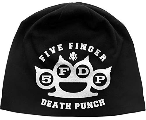 Five Finger Death Punch 'Logo' (Black) Beanie Hat
