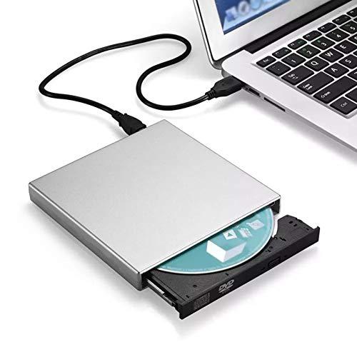 HMY Recordeur CD-RW Externe USB, Lecteur DVD DVD/CD Lecteur de Lecteur Lecteur Optique pour Ordinateur Portable MacBook Ordinateur Portable PC Windows7 / 8 Freehing