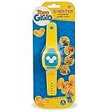 Il G-Watch di Topo Gigio come visto nella serie TV Premendo il pulsante centrale, l'orologio proietta le immagini Si possono ascoltare anche alcuni estratti della sigla TV Ruotando il quadrante, si può cambiare immagine o suono