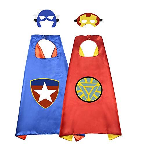 WIKI 3-12 Ans Garcon Jouet, Cape de Super Heros Jouets pour Fille de 3-12 Ans Cadeaux Garcon Fille...