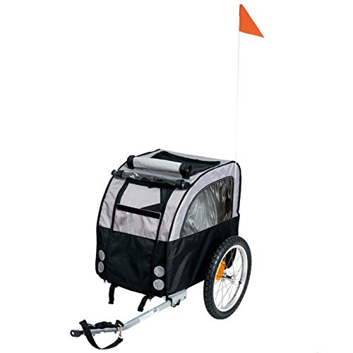 Karlie Doggy Liner Amsterdam Teflon® L: 109 cm B: 59 cm H: 73 cm schwarz-grau