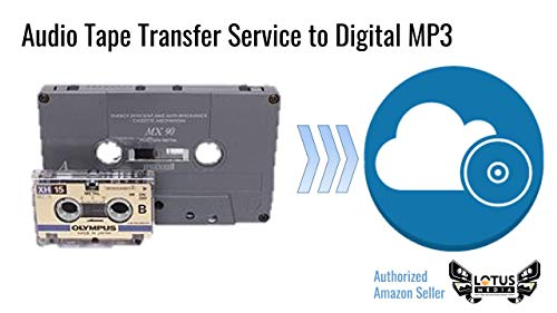 Great Price! Audio Tape, DAT, and Reel-to-Reel, Digitization and Transfer Service to Digital MP3 and...