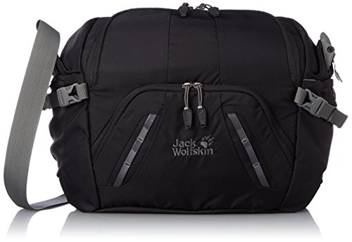 Jack Wolfskin Umhängetasche Acs Photo Bag Black 32 x 40 x 20 cm, 2003871-6000