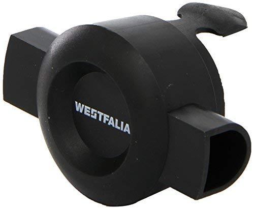 Westfalia Verschluss-Stopfen für abnehmbare Anhängerkupplung - Schutz vor Wasser und Schmutz bei Nicht-Gebrauch der AHK