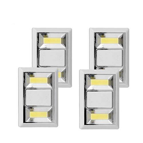 WTKONL Nachtlicht Notlichtschalter Schnurlose Tragbare Magnetische Lampe Für Kleiderschrank Camping Küche