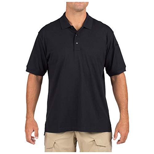 5.11 Tactical Series Tactical Polo Homme, Dark Navy, FR (Taille Fabricant : 2XL)