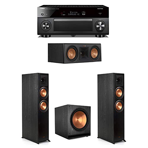 Best Prices! Klipsch 3.1 Ebony System - 2 RP-6000F,1 RP-500C,1 SPL-150,1 RX-A3080 Receiver