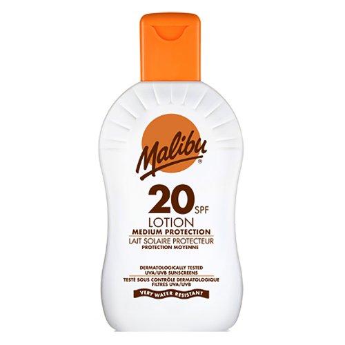 Malibu Sun Lotion SPF20 Mittlerer Sonneschutz 200ml