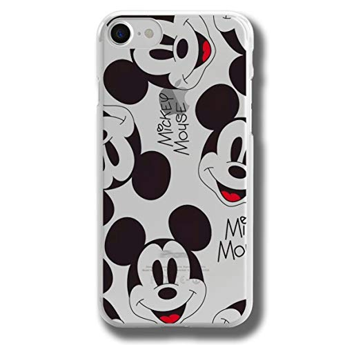 RENGMIAN Funda iPhone 6,McKey Mnne Mouse Scratch-Resistant Transparent Soft TPU Case Pattern-250 Resistant Slim Fit iPhone 6/6S (Not For 6Plus)