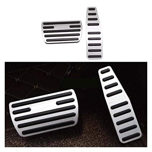ZXC Accesorios for el Coche en Forma for el Chevrolet Captiva Combustible Freno de pie Descanso en los Pedales del Acelerador Plate Zapatas de Freno Cubre Pedales Styling Atmósfera Simple