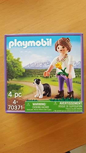 Playmobil 70371 Mujer con Perro Paquete