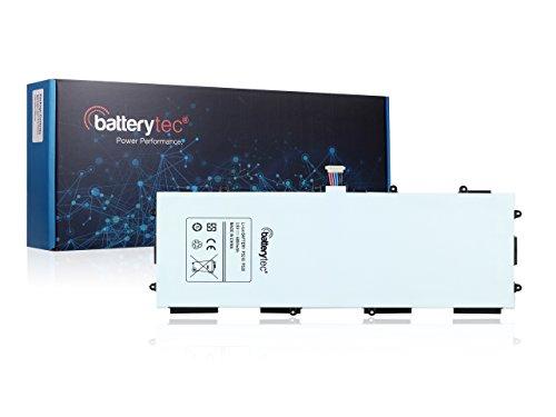 6800mAh Batterytec Batteria per SAMSUNG Galaxy Tab 3 10.1, GT-P5200, GT-P5210, T4500E, P5200 P5210. [3.8V 6800mAh, 12 mesi di garanzia]