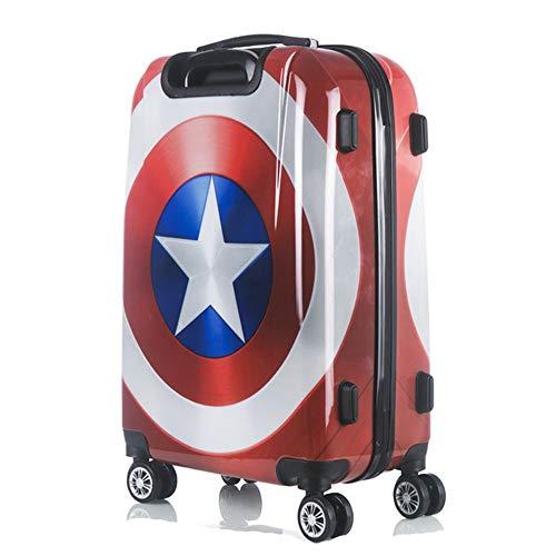 Koffer XYDBB Rolling Dames Trolley Reistas voor Kinderen Carry On Kinderen Kofferbakwielen 24