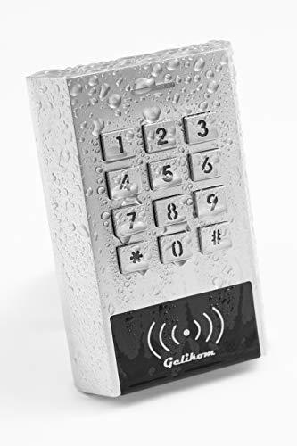 Gelikom XK1 RFID und PIN Codeschloss (Codeschloss + 5 Chips)