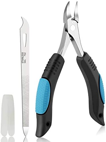 Nail Clippers Toenail Clippers for Thick Nail or Ingrown Toenails by Bleswin Upgraded Ingrown product image