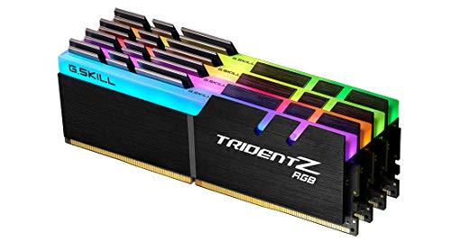 G.Skill Trident Z RGB F4-3600C16Q-32GTZRC - Módulo de Memoria (32 GB, 4 x 8 GB, DDR4, 3600 MHz)
