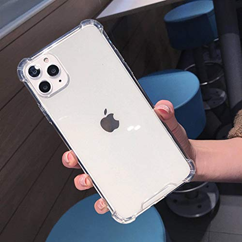 N-B Transparent Shockproof Casefori Phone12mini11 Pro MAX X S X R X6 S78 Plus Transparent Shockproof Phone Case Soft T P U Back Cover