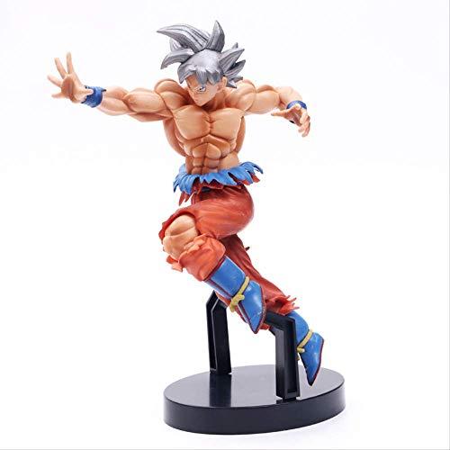 Yangzou Figura De Acción Dragon Ball Figura De Juguete 21 Cm,Hijo Goku Ultra Instinct Figura PVC Son Gokou Figuras De Colección Modelo De Juguete Juguetes para Niños