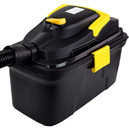Syntrox Germany 10 Liter Staubsauger 1800 Watt max. Industriesauger Nass und Trockensauger mit Ablassventil