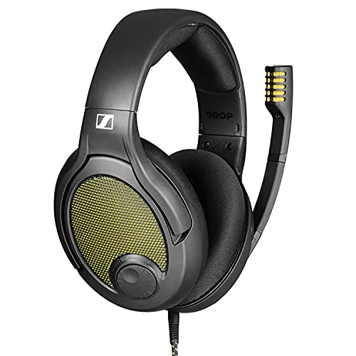 Drop + Sennheiser PC38X Gaming Headset — Noise-Cancelling Microphone with Over-Ear...