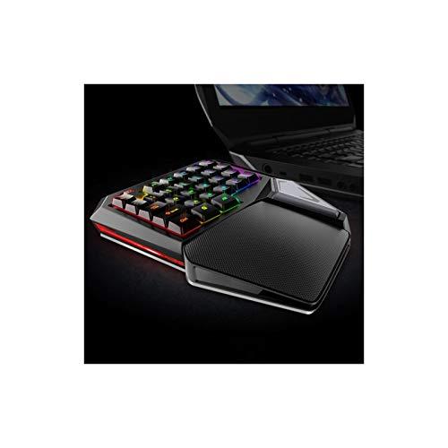 Deluxe T9 Plus Mechanische Gaming-Tastatur mit Beleuchtungsmodus 11