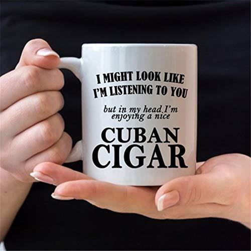 Taza para fumar cigarros cubanos, taza de café de cigarros cubanos, regalo de cigarro, taza de regalo de cigarro, regalo ideal para cigarros