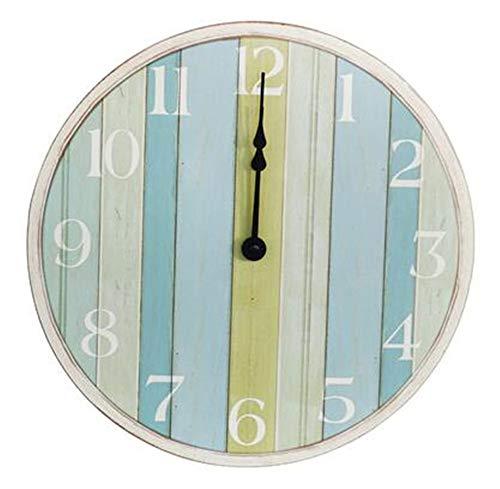 Vintage Klok voor Living Room, Frans Unique Keuken Klokken Shabby Chic Clock cijfers