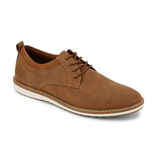 Dockers Mens Braxton Casual Oxford Shoe, Tan, 10.5 M