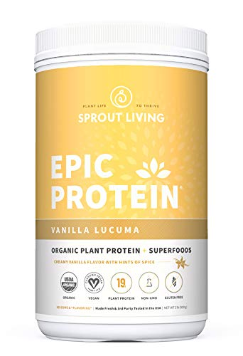 Epic Protein, Organic Plant Protein + Superfoods Supplement review