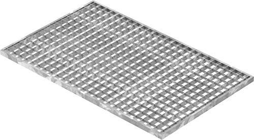 Fenau | Gitterrost/Baunorm-Rost Maße: 490 x 790 x 20 mm - MW: 30 mm / 30 mm (Vollbad-Feuerverzinkt) (Passend für Zarge: Fenau 500 x 800 x 23 mm) Industrie-Norm-Rost für Lichtschacht