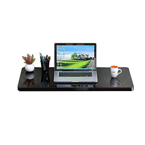 Folding Computer Bureau, Massief hout Wandtafel, Wandmontage Eettafel, Staal Frame Support, Thuis Leren Game Table, Wandplank