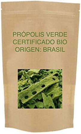 Propoleo verde de Brasil Bio. 100% natural, directo del apicultor, sin procesar, raw. Limpio.