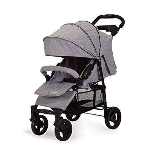 Find Discount ETERLY Stroller Can Sit Reclining Portable Folding Four-Wheel Shock Absorber, Suitable...
