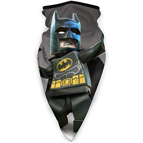 NHJMH Leg_o Bat-man Bandanas Cara Cuello Polainas Headwrap Head Bufanda Esquí Pasamontañas Calentador de cuello de boca