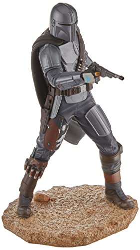 Gentle Giant Star Wars Premier Collection: The Mandalorian MK3 1:7 Scale Statue, Multicolor, 10 inches