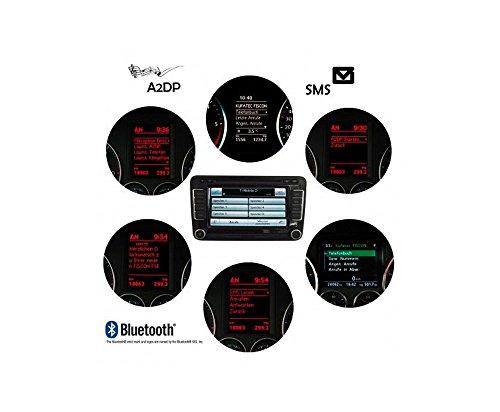 Kufatec 36496 FISCON Bluetooth-Freisprecheinrichtung Basic-Plus für VW (RNS-310 / RNS-510 / RCD-510 / RNS-810)