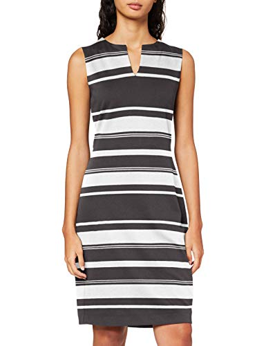 ESPRIT Collection Damen NOOS Dress Lässiges Business-Kleid, Schwarz, S