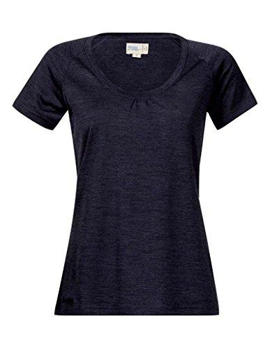 Bergans Sveve T-Shirt en Laine Femme, Night Blue Mel Modèle XS 2018 T-Shirt Manches Courtes