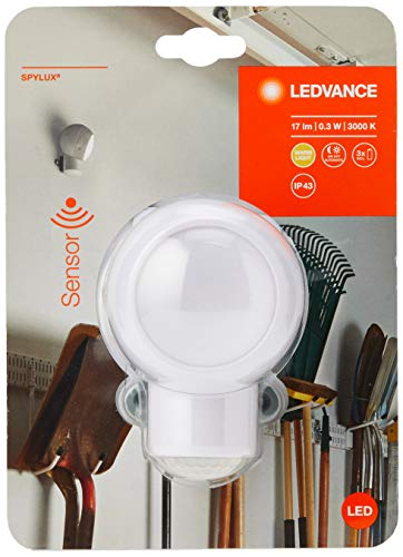 LEDVANCE LED Batteriebetriebene Leuchte, Leuchte für Innenanwendungen, Weiß, SPYLUX