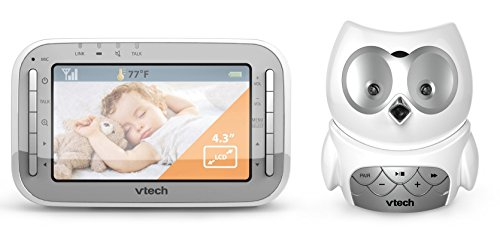 Vtech Safe and Sound Owl Colour Video and Audio Baby Monitor...
