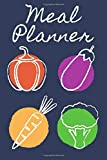 Meal Planner: Weekly Planner Journal To Track & Log Your Meals & Shopping Lists I 100 Week Food Meal Prep Planner I Great Nutrition Diary To Keep You On Track & Motivated I Gifts For Dieters
