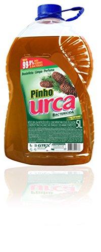 Desinfetante Pinho, Urca, Marron, 5 L