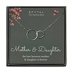 Mother~Daughter necklace