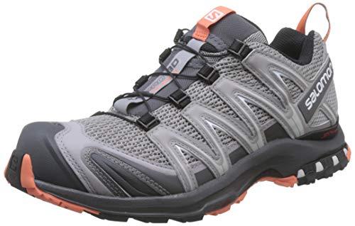 Salomon Damen Trail Running Schuhe, XA PRO 3D W, Farbe: grau (alloy/magnet/camellia) Größe: EU 41 1/3