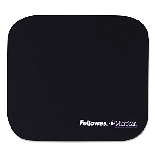 Fellowes 5933801 Microban - Alfombrilla de ratón, 22 x 8 x 1/8 pulgadas, antideslizante, color azul marino