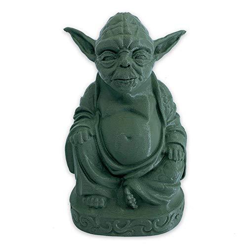 muckychris Yoda Buddha | Star Wars | Olive Green 4'
