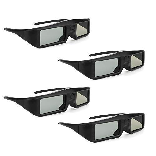 Docooler Oler 4 Pieza G06 de BT 3D Activa Shutter Vasos Virtual Reality BT se?al Especialmente para LG/Sony/Panasonic/Sharp/Toshiba/Mitsubishi/Philips/ 3D TV Smart TV
