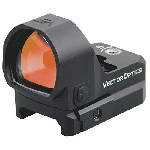 VECTOR OPTICS - Rotpunktvisier, Frenzy 1x22x26 3 MOA, Red Dot für Sportschießen und Jagd